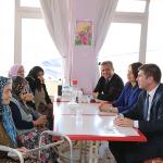 Başkan Ercengiz yaşlıları unutmadı
