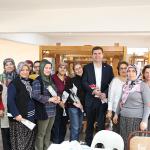 Başkan Ercengiz personelin kadınlar gününü kutladı