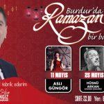 Burdur Belediyesi'nden Ramazan Şöleni