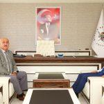 Doğa Koruma ve Milli Parklar 6. Bölge Müdürü Rıza Kamil Belediyemizi Ziyaret Etti