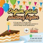 Burdur Belediyesi'nden Doğum Günü Hediyesi