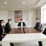 Biyolojik Atıksu Arıtma Tesisi İnşaatı için yer teslimi imzaları atıldı.