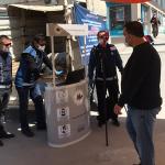 Pazarlara termal kamera kuruldu