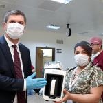 Başkan Ercengiz, sağlık çalışanlarını unutmadı