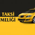 Ticari taksi yönetmeliği