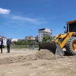 Başkan Ercengiz, yol açma çalışmalarını yerinde inceledi