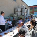 Başkan Ercengiz, Mahrukatçılar Sitesi Esnaflarıyla bir araya geldi.