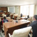 Başkan Vekili Say, birim müdürleri ile bir araya geldi
