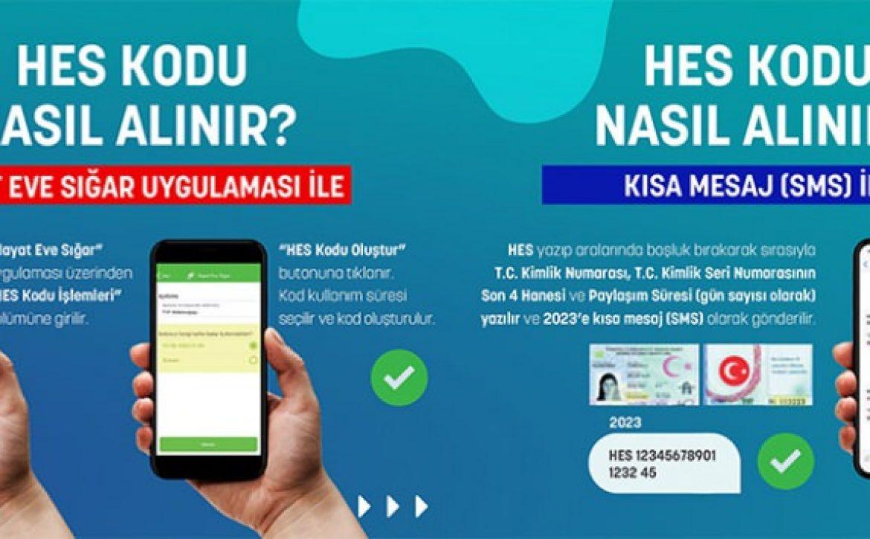 Sms ile Hes Kodu Alma – T.C. Burdur Belediyesi
