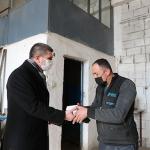 Başkan Ercengiz Sanayi esnafını ziyaret etti