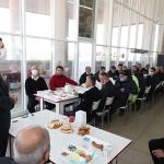 Başkan Ercengiz, Otogar esnafıyla kahvaltıda buluştu