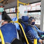 Başkan Ercengiz ilk ve tek kadın halk otobüsü şoförü ile seyahat etti