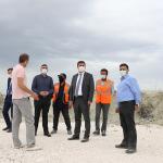 İleri Biyolojik Atık Su Arıtma Tesisi inşaatında İlk kazma vuruldu