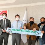 Başkan Ercengiz'den Yeşilova Belediye Spora destek