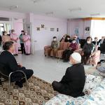 Başkan Ercengiz'den Babalar Günü öncesinde Huzurevi ziyareti